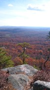 The view from the Gunks ridge