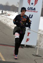 Kenneth Posner 1st overall for 50K non championship overall - photo from GLIRC website