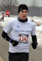 Stephen England placed 13 overall - photo from GLIRC website