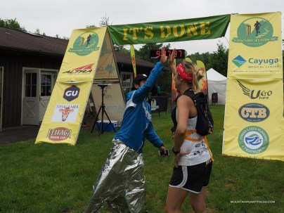 The Magatron finish as 6th female with surgeon style. And yes, I was wearing my prom skirt.