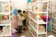 One of the community library by Bulir Padi