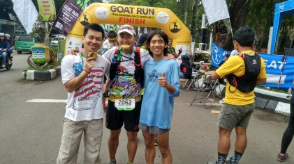 Happy finishers