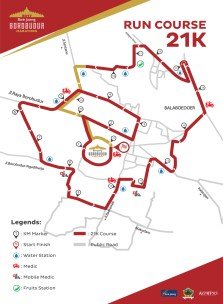 Run Course Borobudur 21K