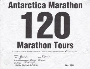 2016 11 - Antarctica Marathon