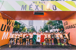 nike womens half marathon mexico 21K we run mexico
