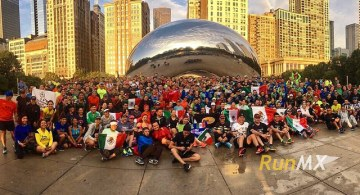 Un éxito la Mexican Run en Chicago