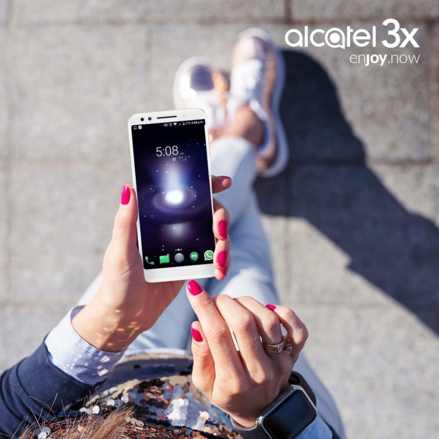 carrera telcel red Alcatel 3X