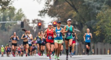 El Maratón de Sacramento, California International Marathon