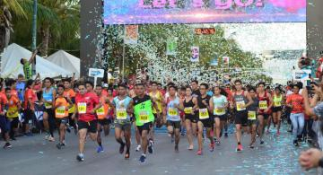 Rock 'n' Roll Marathon en Cancún