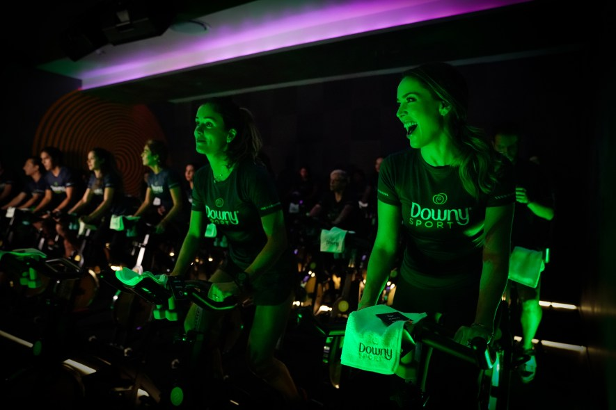 Downy Sport clase spinning