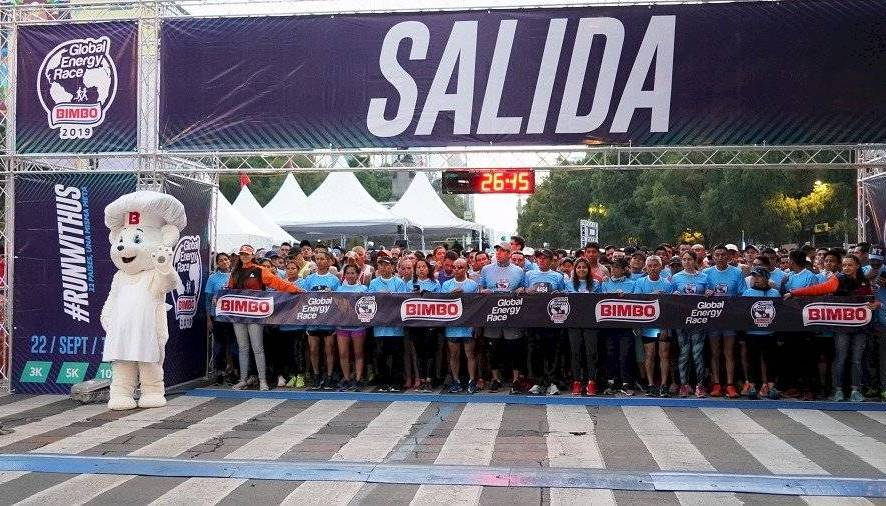 Resultados de la carrera Global Energy Race Bimbo 2019