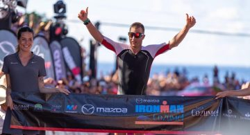 Butterfield y Lester ganadores del Ironman Cozumel 2019