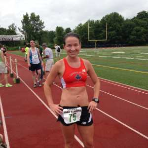 Our First Female at the Putnam County Classic, Taconic Road Runners!