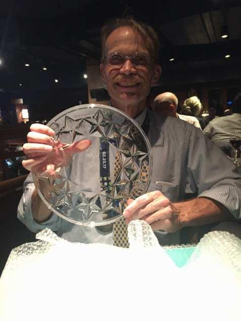 Ken with the 50s Men award!