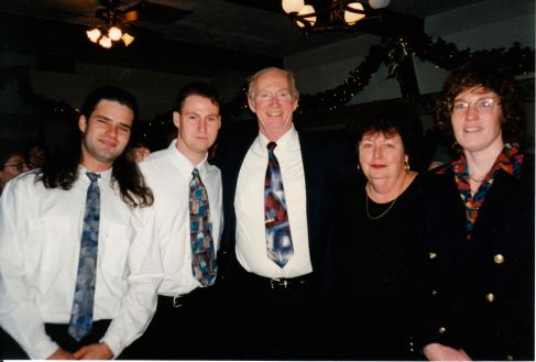 The McCrudden- Matthew, Owen, Joe, Margaret, & Patti