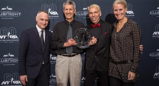 Steve Calidonna. Winning runner. Winning smile.