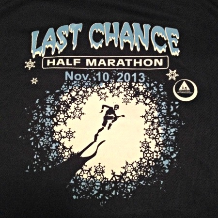 Last Chance Half Marathon race report