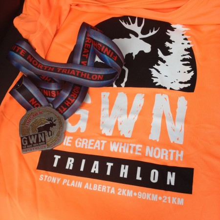 Great White North Half Iron Race Report