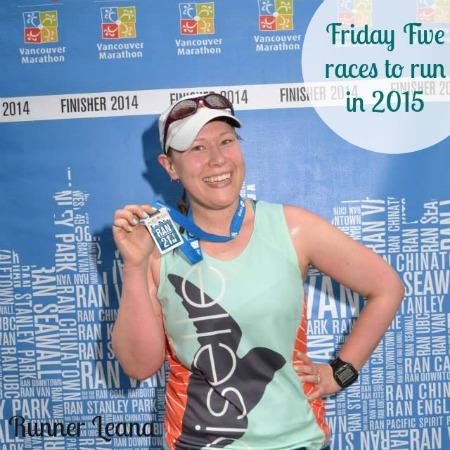 Friday Five races to run in 2015