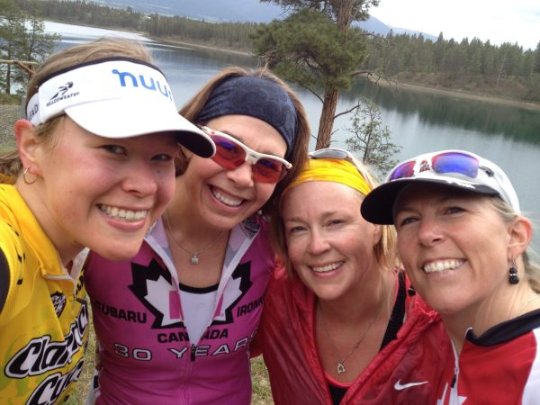 in Montana for a training weekend with Tara, Shannon and Kelly