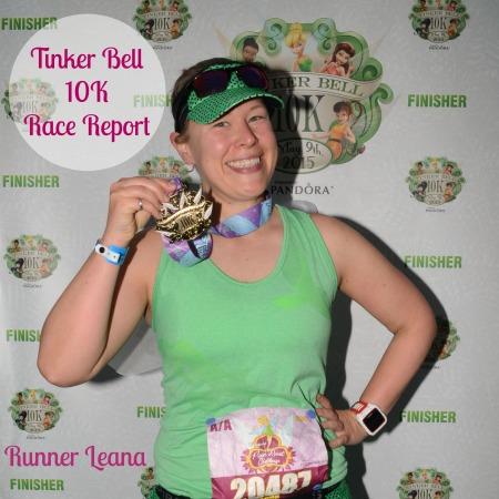 Tinker Bell 10K Race Report