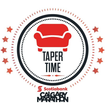 Calgary Marathon Taper Time