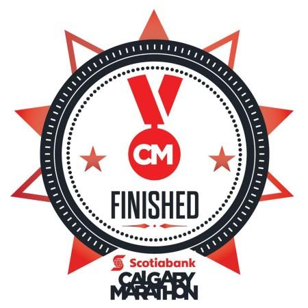 Calgary Marathon Finished