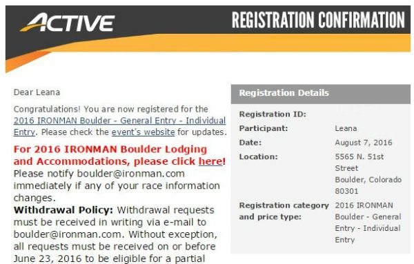 IM Registration