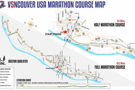 New Map Of The World » seattle marathon course map   Map Of The World