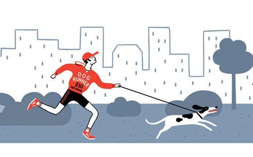 5 bonnes raisons de courir avec son chien
