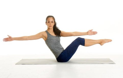 Image result for Boat Pose Twists