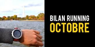 bilan running octobre