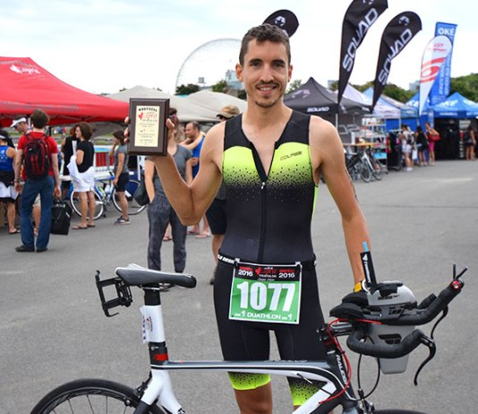 Duathlon olympique Check !