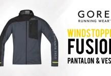 Pantalon et Veste Gore WindStopper Fusion