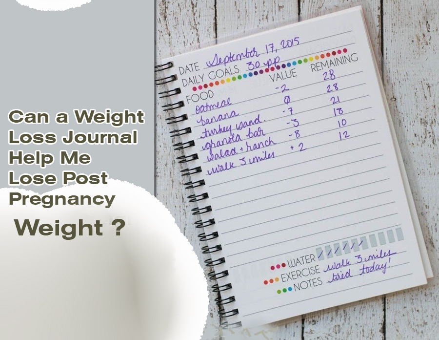 Can a Weight Loss Journal Help Me Lose Post Pregnancy Weight?
