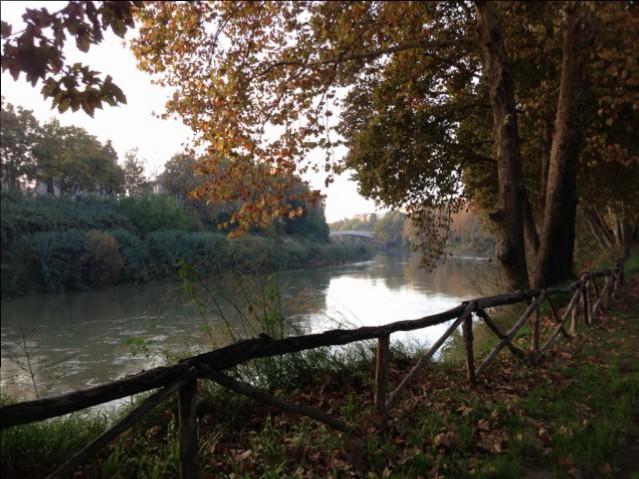 Herbststimmung am Tiber