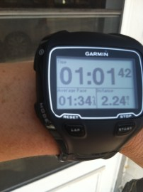 Garmin 910xt - open water swimming!