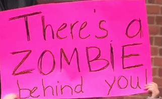 zombiebehind you