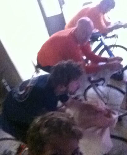 The Pain Cave: Suffering Loves Company