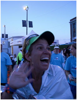 This picture was taken about 30 seconds after I crossed the finish line of my first Ironman. I have been chasing this feeling ever since.
