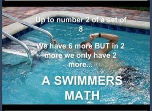 swimmers math