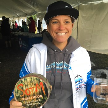 Second place overall female at Survival of the Mills. The weather was terrible - and I reminded myself that I love adverse conditions. Yeah, that's it.