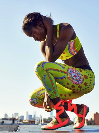 Colora il tuo training con il Sole: Nike New Collection by Yuko Kanatani