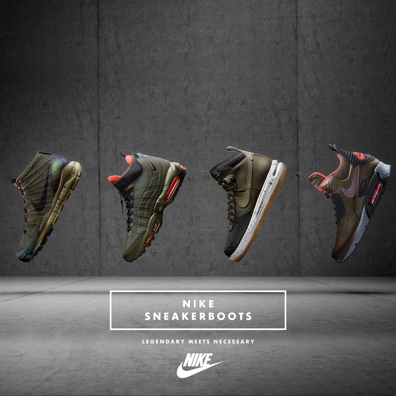 Lo stivale secondo Nike: SneakerBoots