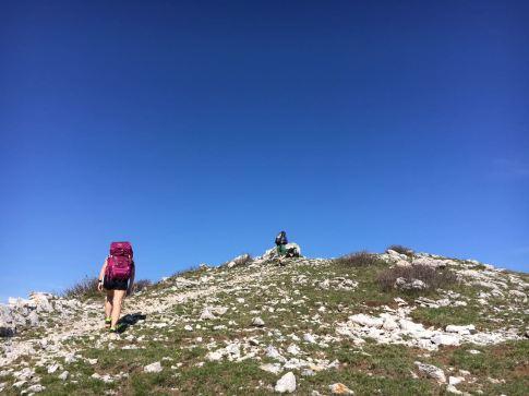 Verso il Monte Carmo