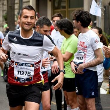 Foto Marco Alpozzi/LaPresse 02 04 2017 Milano ( Italia) Sport EA7 Emporio Armani Milano Marathon Nella foto: Photo Marco Alpozzi/LaPresse April 02, 2017 Milano (Italy) Sport EA7 Emporio Armani Milano Marathon In the pic: