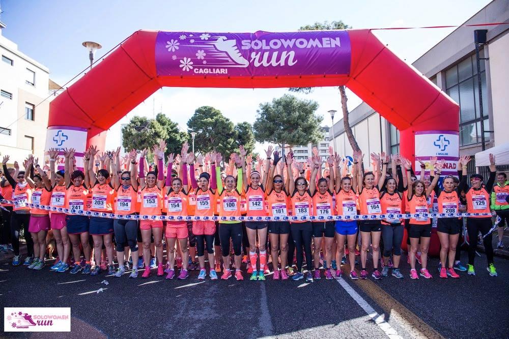 SoloWomenRun – l'11 marzo a Cagliari andiamo di scena noi donne