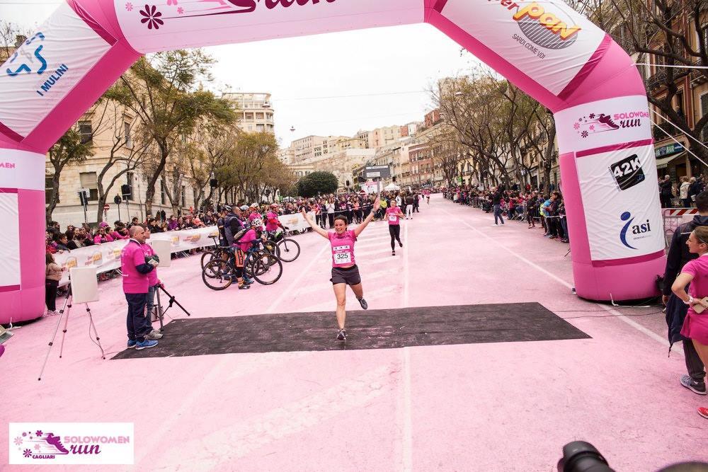 SoloWomen Run Cagliari – La Sardegna è donna