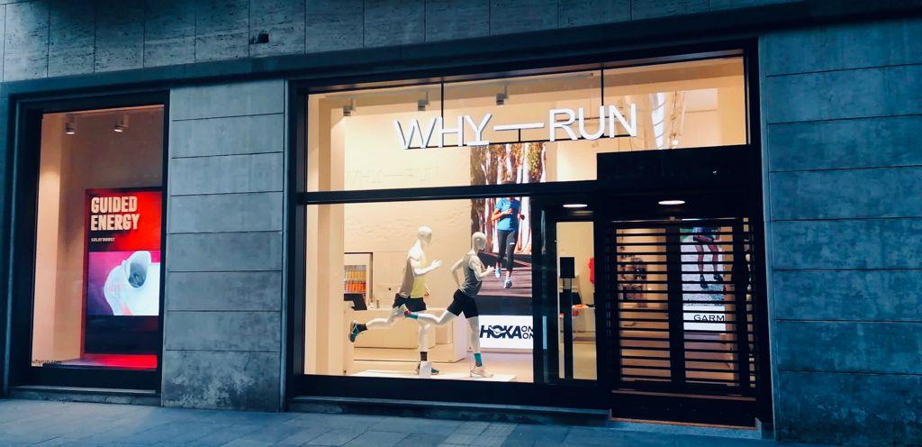 Apre WhyRun a Milano: il concept store del running