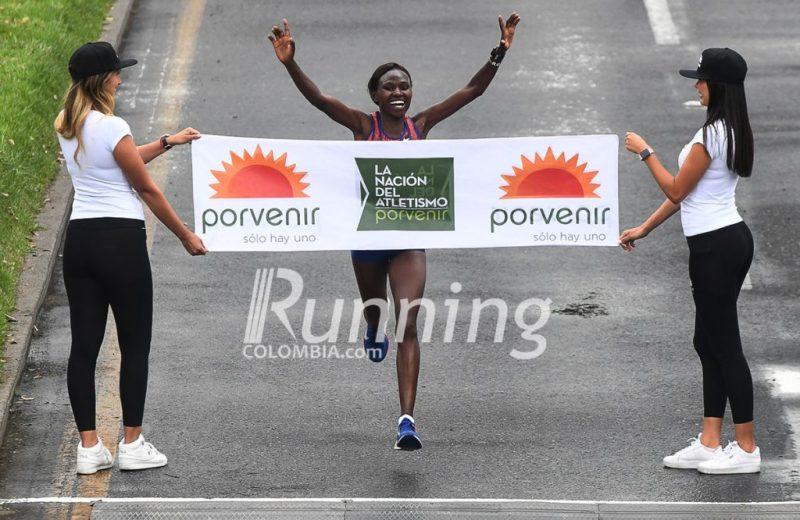 Resultados  de la media maratón de Bogotá